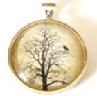 Haunted Pendant Small