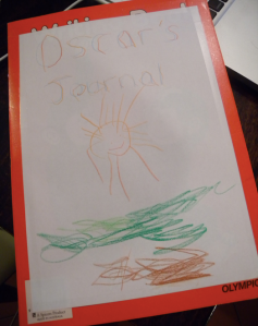 Oscar's journal