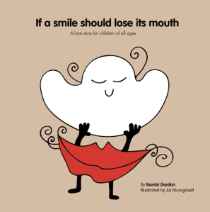 Smile should lose its mouth